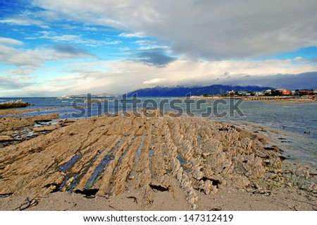 Kaikoura Coast, New Zealand - stock photo