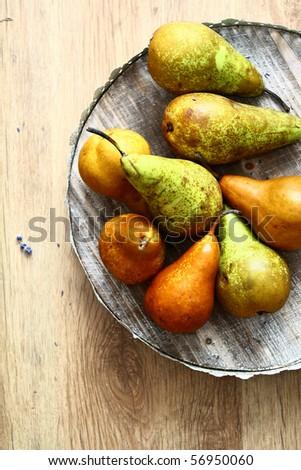 Kaiser pears - stock photo
