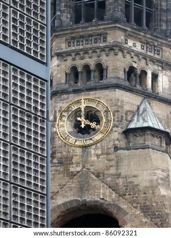 Kaiser-Wilhelm-Memorial Church - stock photo
