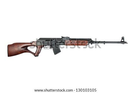 kalashnikov rifle - stock photo