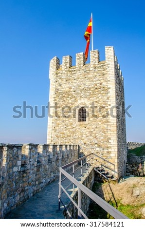 Kale Fortress is a historic fortress located in the old town - stock photo