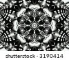 kaleidoscope compositions - stock photo