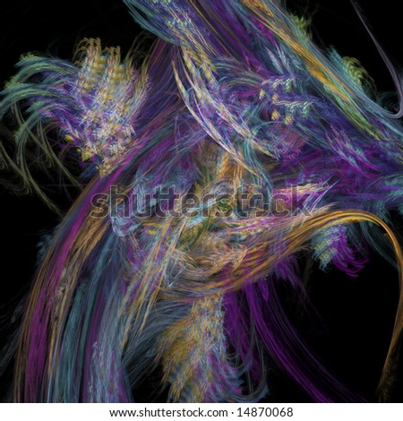Kaleidoscope of Colors - stock photo