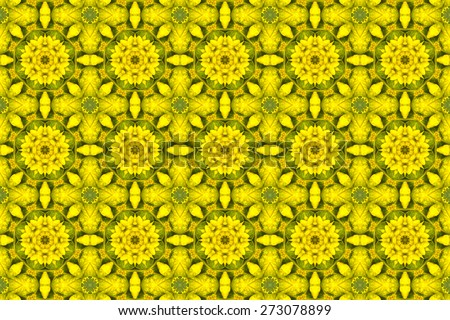 kaleidoscopic floral pattern, abstract background for design