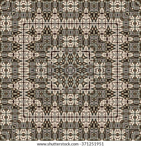 Kaleidoscopic wallpaper pattern or background