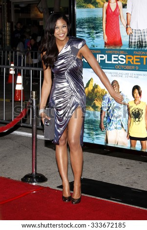 "Kali Hawk at the Los Angeles Premiere of ""Couples Retreat"" held at the Mann Village Theater in Westwood, California, United States on October 5, 2009."
