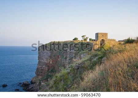 Kaliakra - Fortress In Bulgaria - stock photo