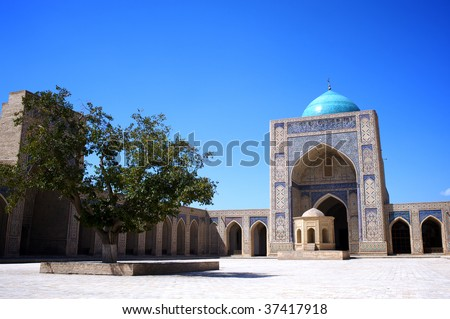 Kalyan Mosque - stock photo