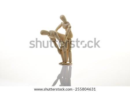 kama sutra wooden dummy intercourse sex
