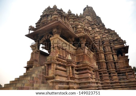 Kandariya Mahadeva Tallest Temple - stock photo
