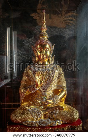 Kanok of Thailand is a beautiful and uniquely.  - stock photo