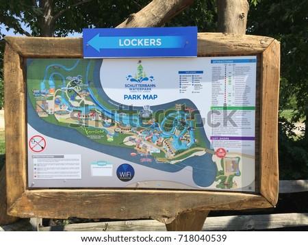 Kansas City Kansas United States June 11 2016 Schlitterbahn Waterpark Park