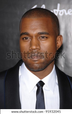 KANYE WEST at the 2006 Rodeo Drive Walk of Style Gala, in Beverly Hills, honoring Salvatore Ferragamo. October 8, 2006  Los Angeles, CA Picture: Paul Smith / Featureflash - stock photo