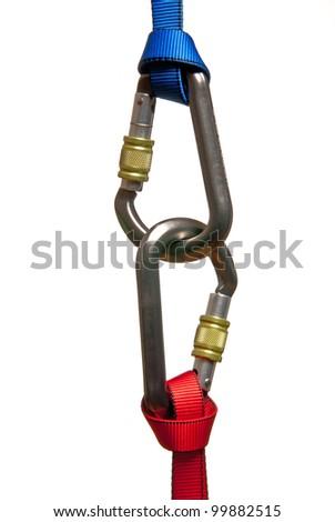 karabiner - stock photo