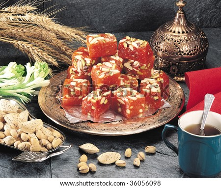 Karachi's Famous Sweet - stock photo