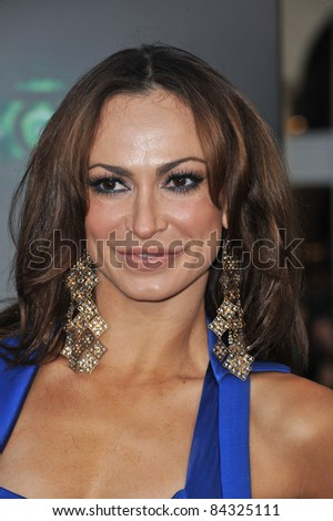 "Karina Smirnoff at the world premiere of ""Green Lantern"" at Grauman's Chinese Theatre, Hollywood. June 15, 2011  Los Angeles, CA Picture: Paul Smith / Featureflash"