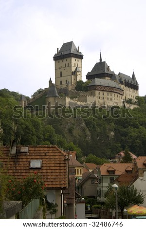 Karlstejn castle - the treasury of Charles IV, roman emperor and czech king