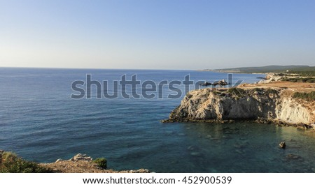 Karpasia (Karpaz, Karpas peninsula). Easternmost point of Cyprus