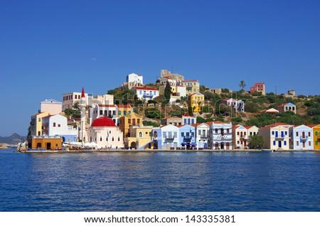 Kastellorizo island, Dodecanese, Greece - stock photo