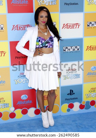 Kat Graham at the Variety's 6th Annual Power Of Youth held at the Paramount Studios in Hollywood on September 15, 2012. - stock photo