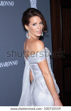 Kate Beckinsale at the 14th Annual Costume Designers Guild Awards, Beverly Hilton Hotel, Beverly Hills, CA 02-21-12 - stock photo