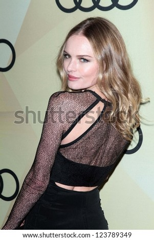 Kate Bosworth at the Audi Golden Globe 2013 Kick Off Cocktail Party, Cecconi's, West Hollywood, CA 01-06-13 - stock photo