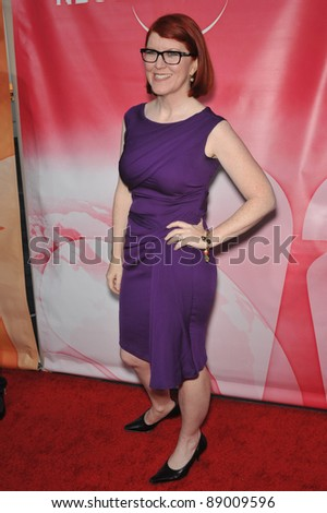 "Kate Flannery - star of ""The Office"" - at NBC Universal TV Summer Press Tour Party in Beverly Hills.  July 30, 2010  Los Angeles, CA Picture: Paul Smith / Featureflash - stock photo"