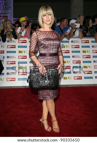 Kate Garraway arriving for the 2011 Pride Of Britain Awards, at the Grosvenor House Hotel, London. 04/10/2011 Picture by: Alexandra Glen / Featureflash - stock photo
