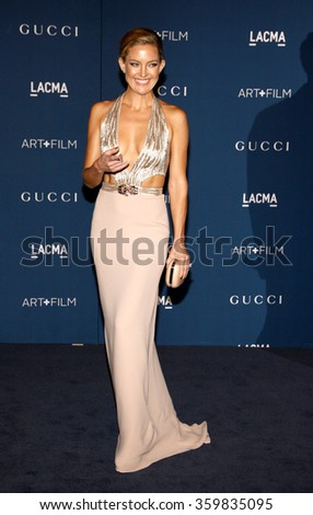 Kate Hudson at the LACMA 2013 Art + Film Gala Honoring Martin Scorsese And David Hockney Presented By Gucci held at the LACMA in Los Angeles, USA on November 2, 2013.  - stock photo