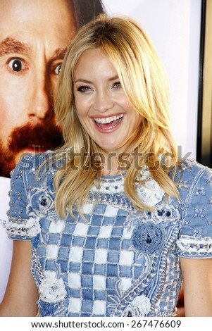 "Kate Hudson at the Los Angeles premiere of HBO's ""Clear History"" held at the Cinerama Dome in Hollywood on July 31, 2013 in Los Angeles, California.  - stock photo"