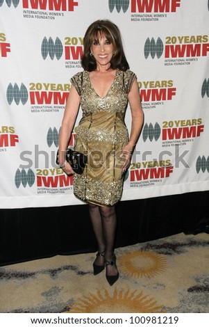 Kate Linder at the 2010 Courage in Journalism Awards, Beverly Hills Hotel, Beverly Hills, CA. 10-21-10 - stock photo