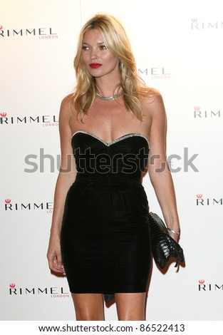 Kate Moss arriving for the Rimmel Party, at Battersea Power Station, London. 16/09/2011 Picture by: Alexandra Glen / Featureflash - stock photo