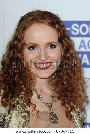 Kate Williams arriving for the Sony Radio Academy Awards, Grosvenor House Hotel on 09/05/2011  Picture by: Simon Burchell / Featureflash - stock photo