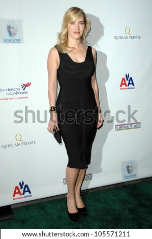Kate Winslet at the US-Ireland Alliance Pre Academy Awards Gala. Ebell Club, Los Angeles, CA. 02-19-09 - stock photo
