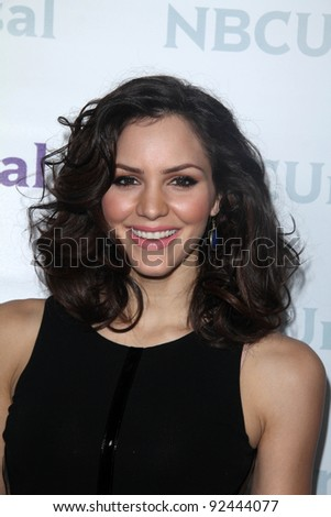 Katharine McPhee at the NBCUNIVERSAL Press Tour All-Star Party, The Athenaeum, Pasadena, CA 01-06-12