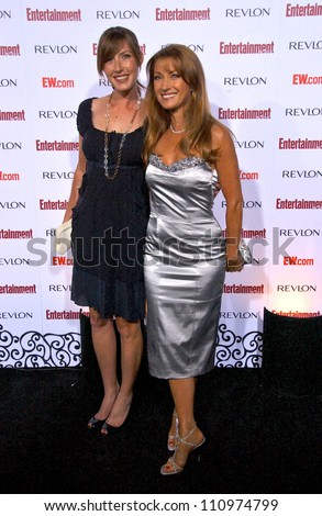 Katherine Flynn and Jane Seymour  at Entertainment Weekly's 5th Annual Pre-Emmy Party. Opera and Crimson, Hollywood, CA. 09-15-07 - stock photo