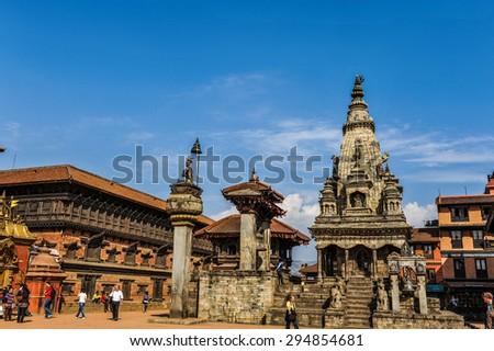 Kathmandu of Nepal. - stock photo