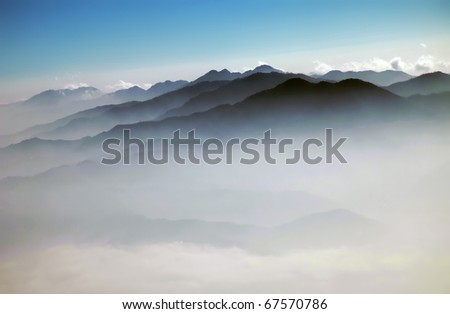 Kathmandu valley - stock photo