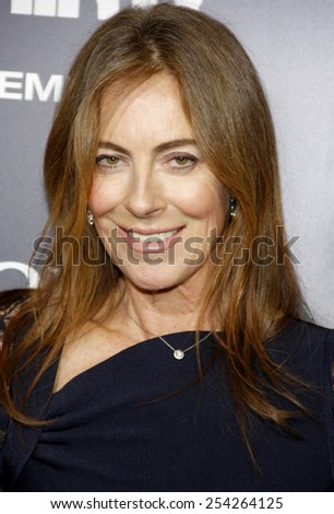 "Kathryn Bigelow at the Los Angeles premiere of ""Zero Dark Thirty"" held at the Dolby Theatre in Los Angeles, United States, 101212."