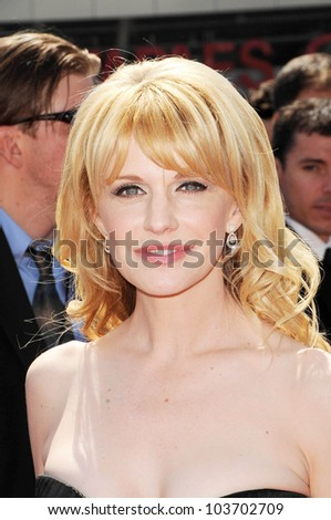 Kathryn Morris  at the 61st Annual Primetime Creative Arts Emmy Awards. Nokia Theatre, Los Angeles, CA. 09-12-09