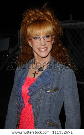 "Kathy Griffin at the Los Angeles Party for ""Kickin' It Old Skool"". The Music Box, Hollywood, CA. 04-25-07"