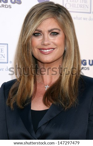 Kathy Ireland arriving at the 2008 Hero Awards at the Universal Hilton Los Angeles,  CA June 6, 2008 - stock photo