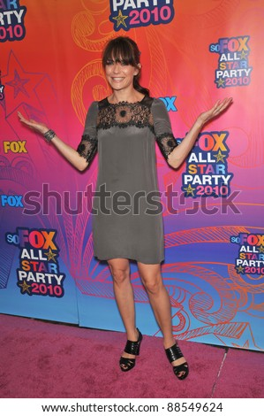 "Katie Aselton - star of ""The League"" - at Fox TV's All Star Party at Santa Monica Pier. August 2, 2010  Santa Monica, CA Picture: Paul Smith / Featureflash"