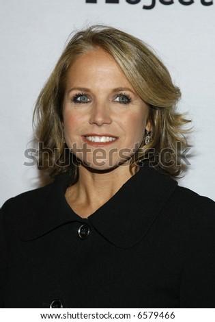 Katie Couric - stock photo