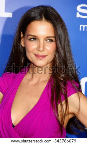 "Katie Holmes at the World Premiere of ""Jack and Jill"" held at Regency Village Theater in Westywood, California, United States on November 6, 2011."