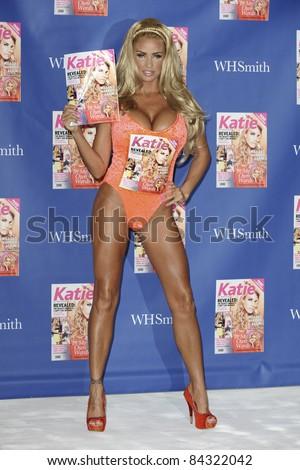 """Katie Price launches her new magazine """"Katie: My Magazine"""" at the Worx ..."""