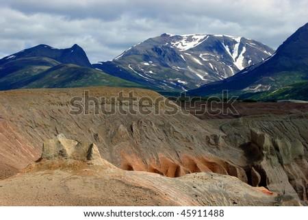 Katmai Peninsula, Alaska - stock photo