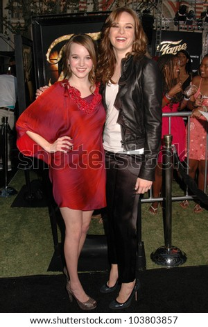 Kay Panabaker And Danielle At The Los Angeles Premiere Of Fame Pacific