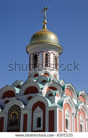 Kazan Cathedral,Red Square,Moscow,Russia