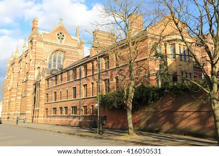 Keble College, Oxford, United kingdom - stock photo